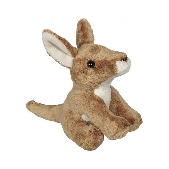 Knuffel kangoeroetjes 15 cm