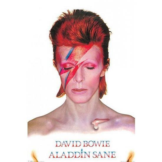 Kroeg decoratie David Bowie Aladdin poster 61 x 91,5 cm