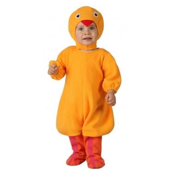 1c1d1539ec6 Kuikentje dierenkostuum voor peuters. het kostuum bestaat uit een jumpsuit  en een muts met .