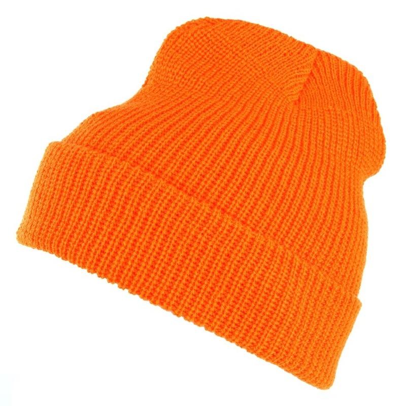 Leger commando winter muts oranje