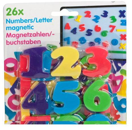 Magnetische cijfers gekleurd