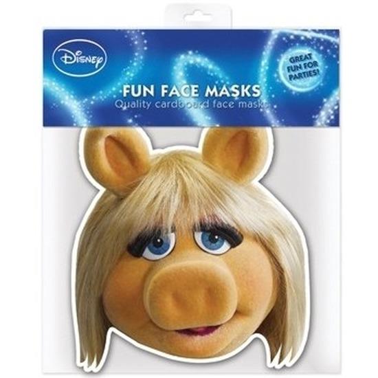 Maskertje met Miss Piggy afbeelding