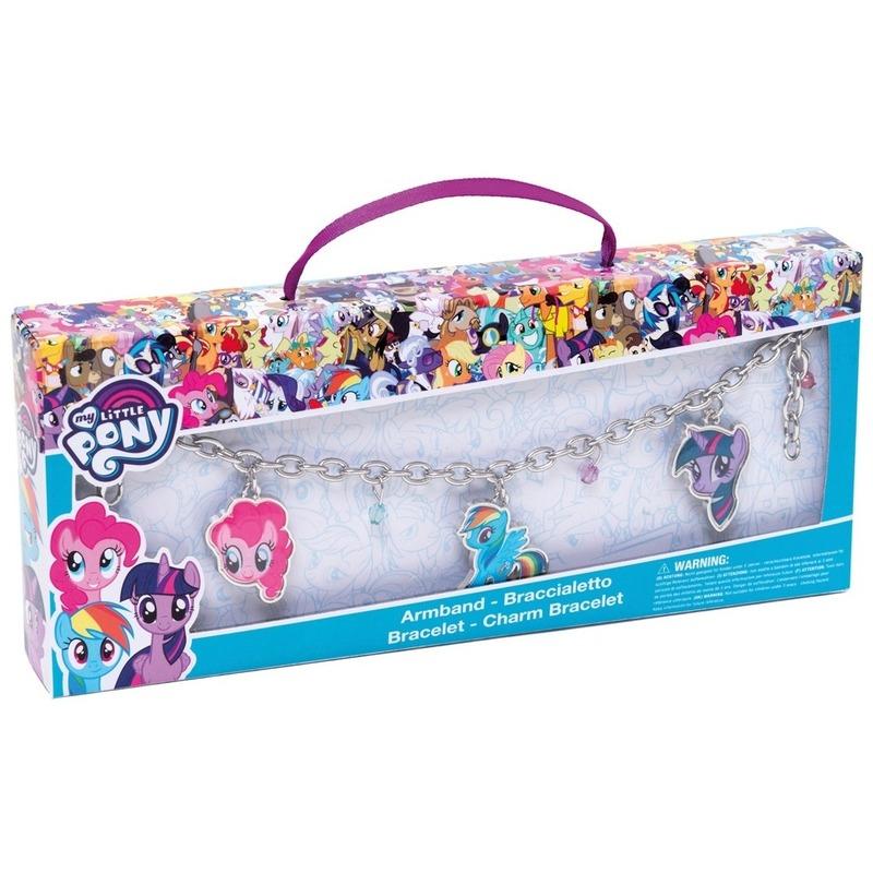 Metalen My Little Pony armbandje met bedels voor meisjes