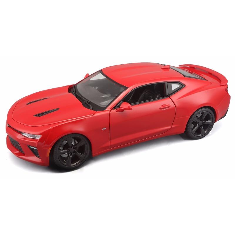 Model auto Chevrolet Camaro 1:18 rood