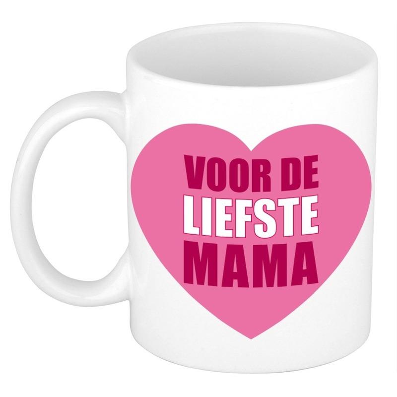 Moederdag mok / beker voor de liefste mama 300 ml
