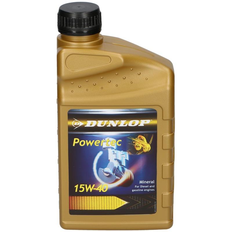 Motorolie 1 liter 15W-40 voor uw auto