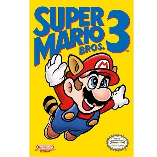 Muur decoratie Nintendo Mario Bros poster