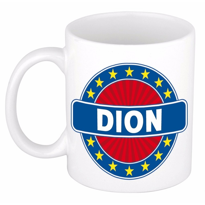 Naamartikelen Dion mok / beker keramiek 300 ml