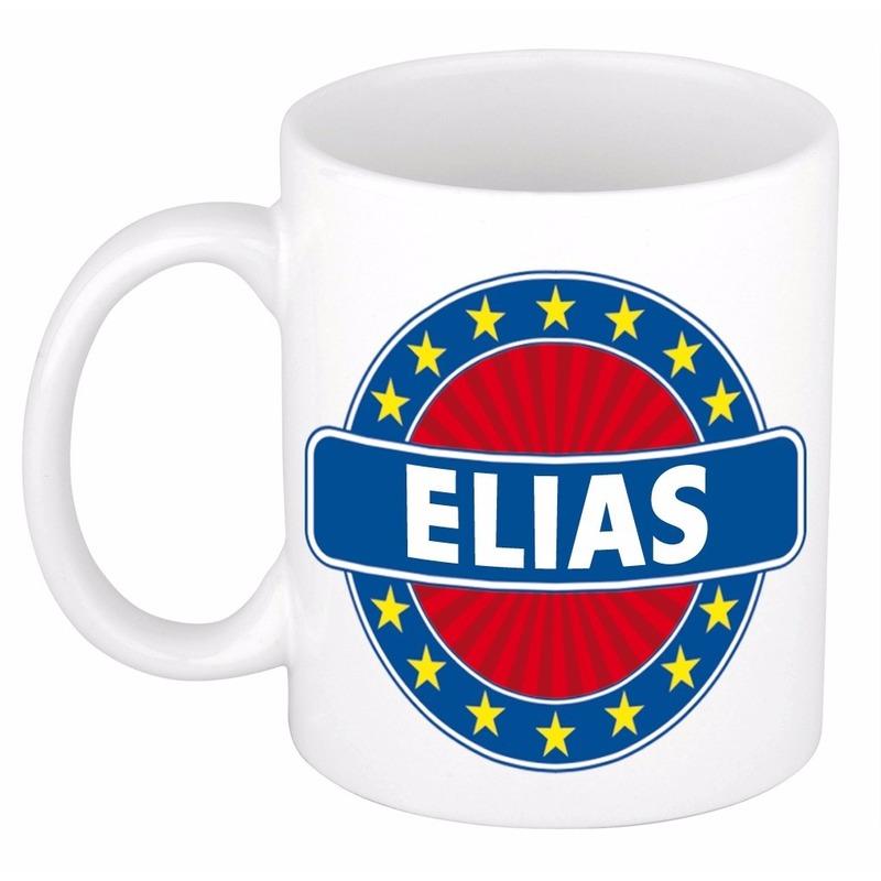 Naamartikelen Elias mok-beker keramiek 300 ml