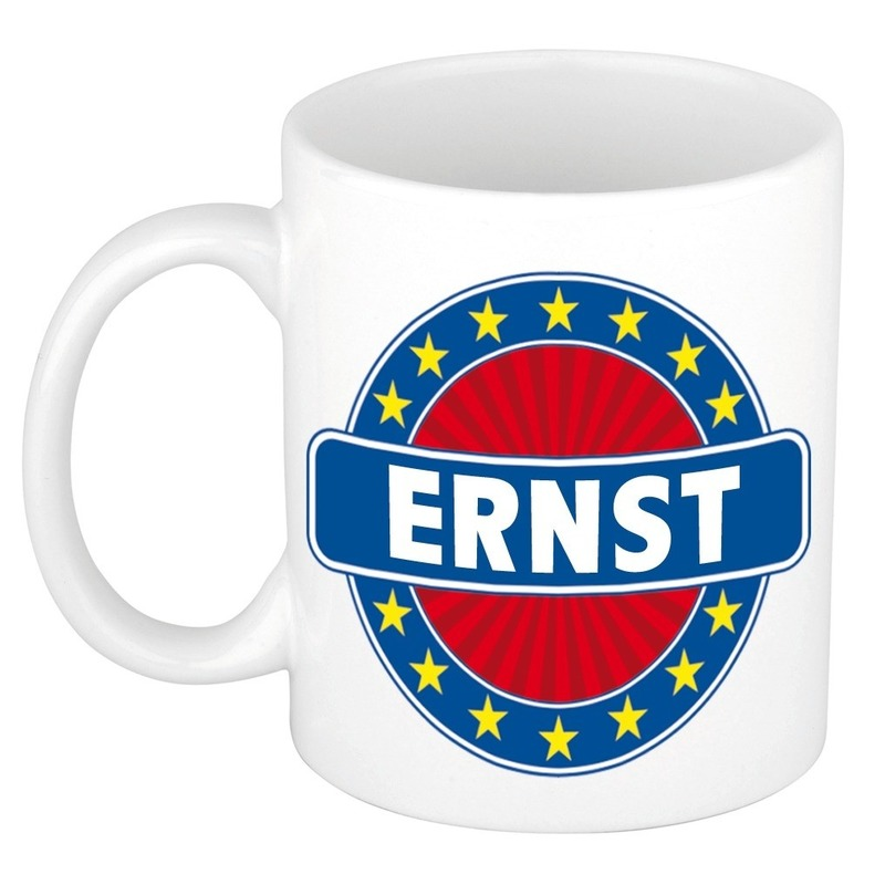 Naamartikelen Ernst mok-beker keramiek 300 ml