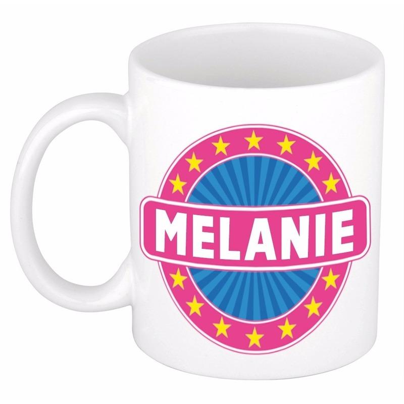 Naamartikelen Melanie mok / beker keramiek 300 ml