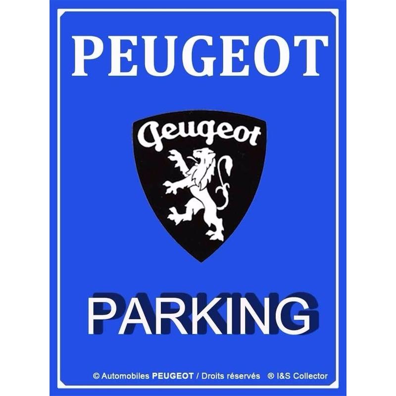 Nostagische decoratie plaat Peugeot