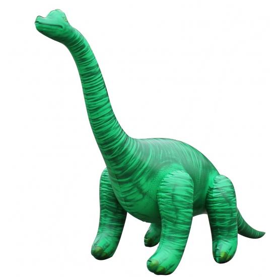 Opblaasbare groene Brachiosaurus 122 cm