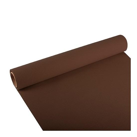 Papieren tafelloper bruin 300 x 40 cm