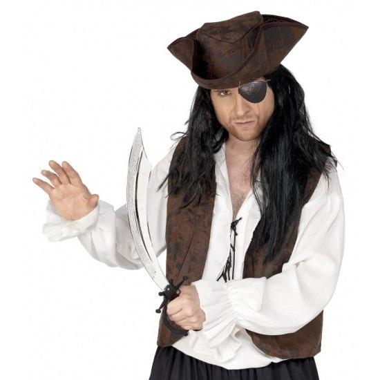 Piraat verkleedsetje ooglapje en zwaard