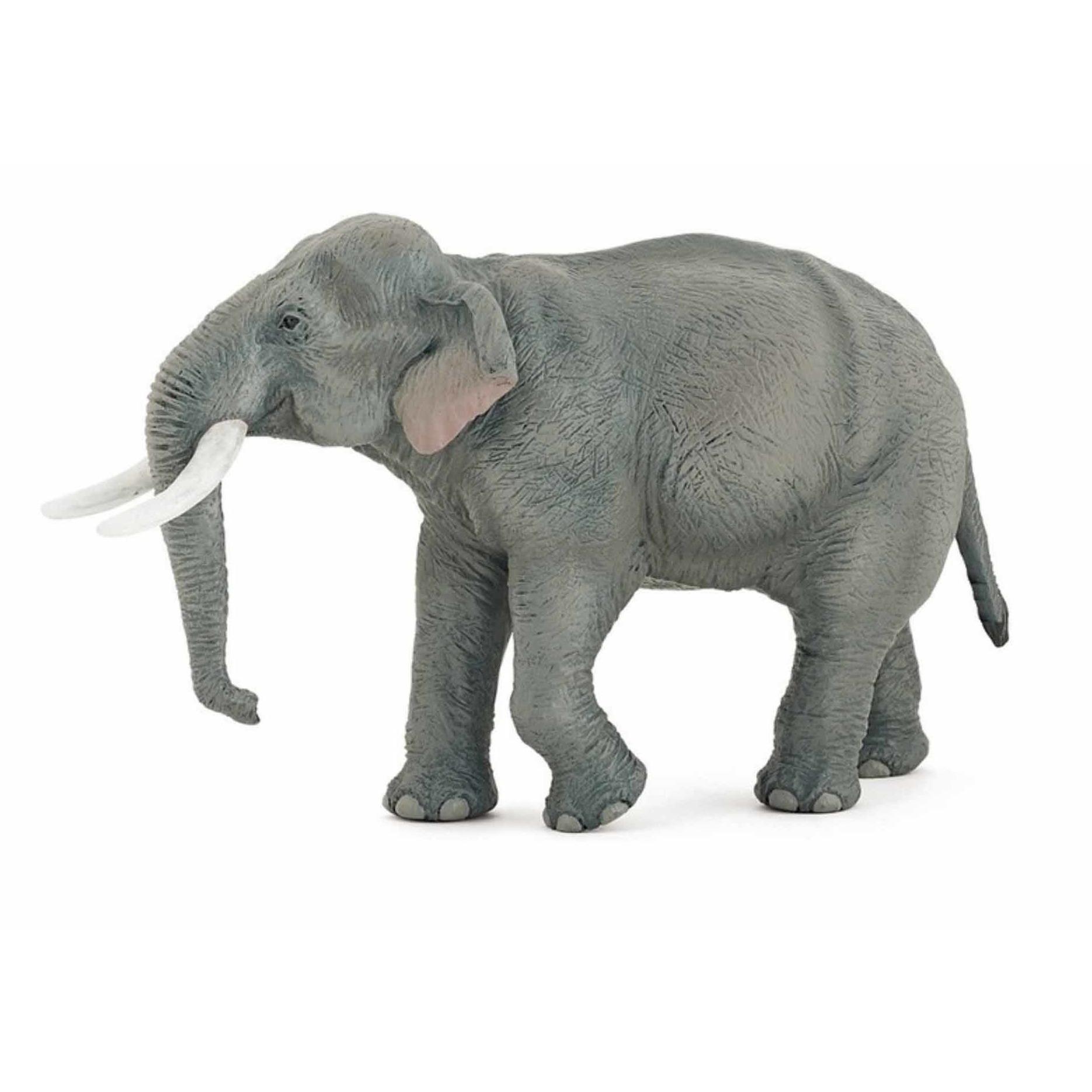 Plastic Papo Aziatische olifant 14.5 cm