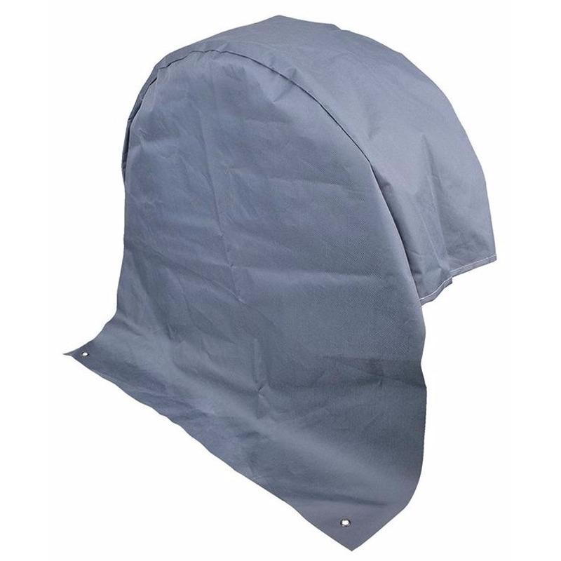 Polyester bandenhoes grijs