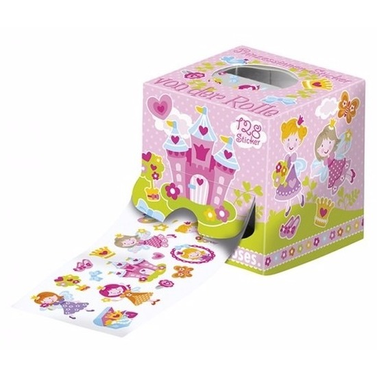 Prinsessen stickers 128 stuks