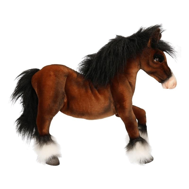 67f32ca1f960cb Realistische paarden knuffel Clydesdale 50 cm € 99.95. Bij: partyshopper.nl