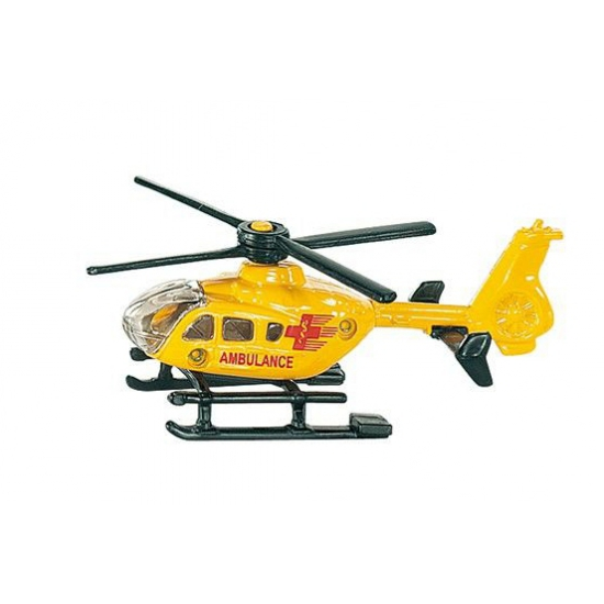 Reddingshelikopter geel Siku 0856