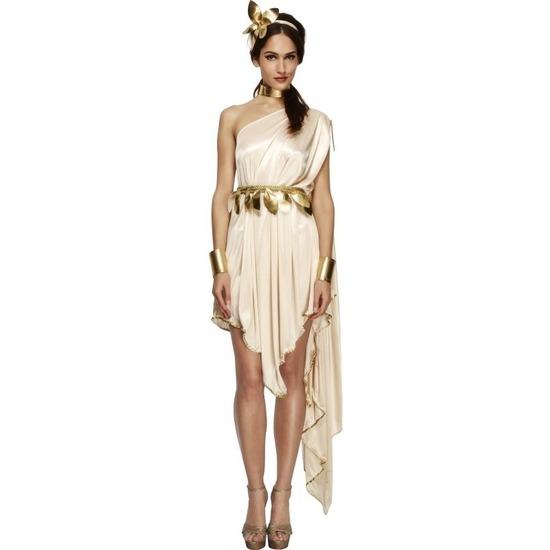 d06b5c67e0feee Romeinse godin verkleedkleding jurk voor dames € 54.95. Bij   fopartikelenwinkel.nl