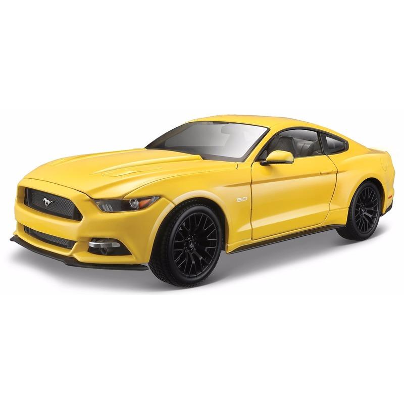 Schaalmodel Ford Mustang 2015 1:18