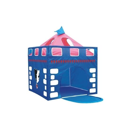 Speelgoed tent blauw kasteel
