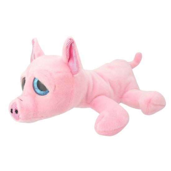 Speelgoed varken knuffel 27 cm