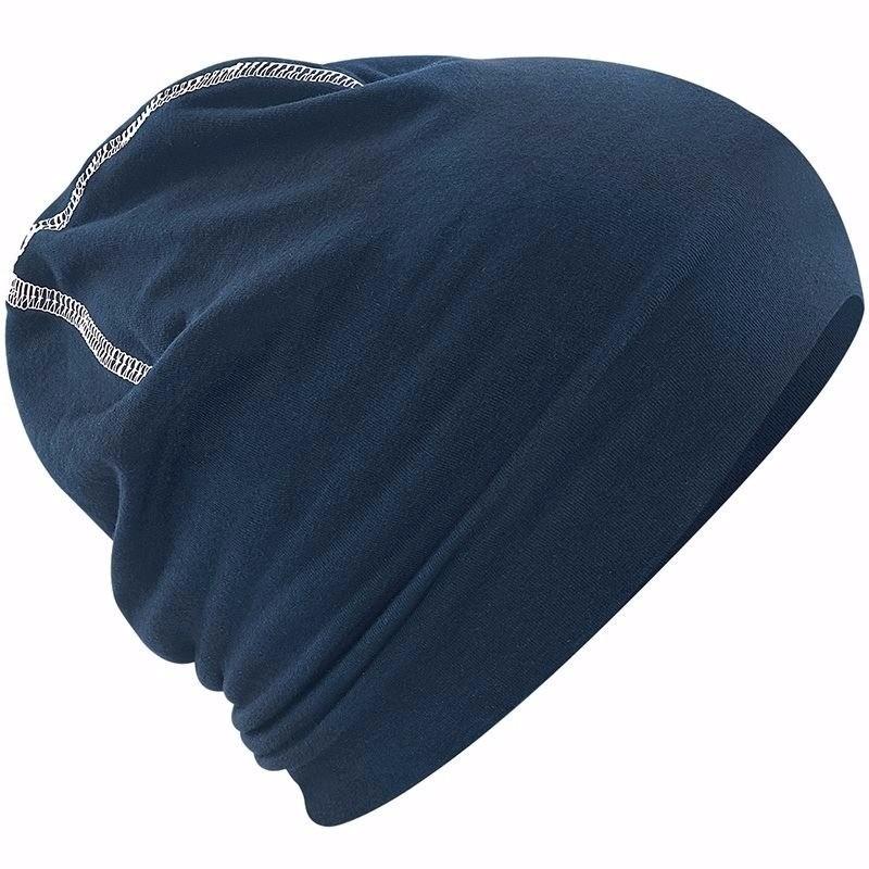 Sportmuts navy blauw katoen voor dames