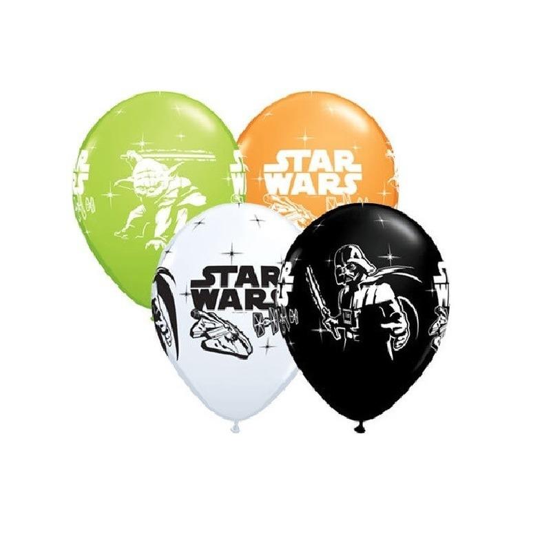 Star Wars thema ballonnen 6x