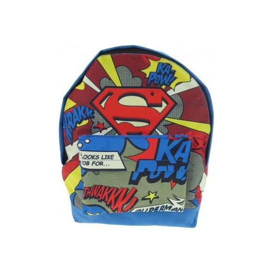 Superman rugtas comic voor jongens