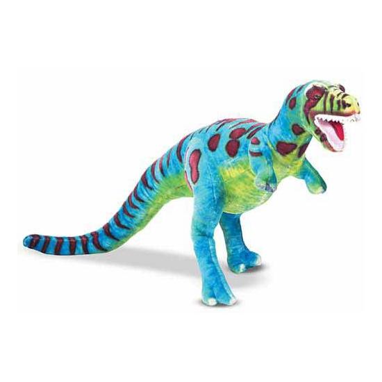T-Rex knuffel gekleurd 81 cm