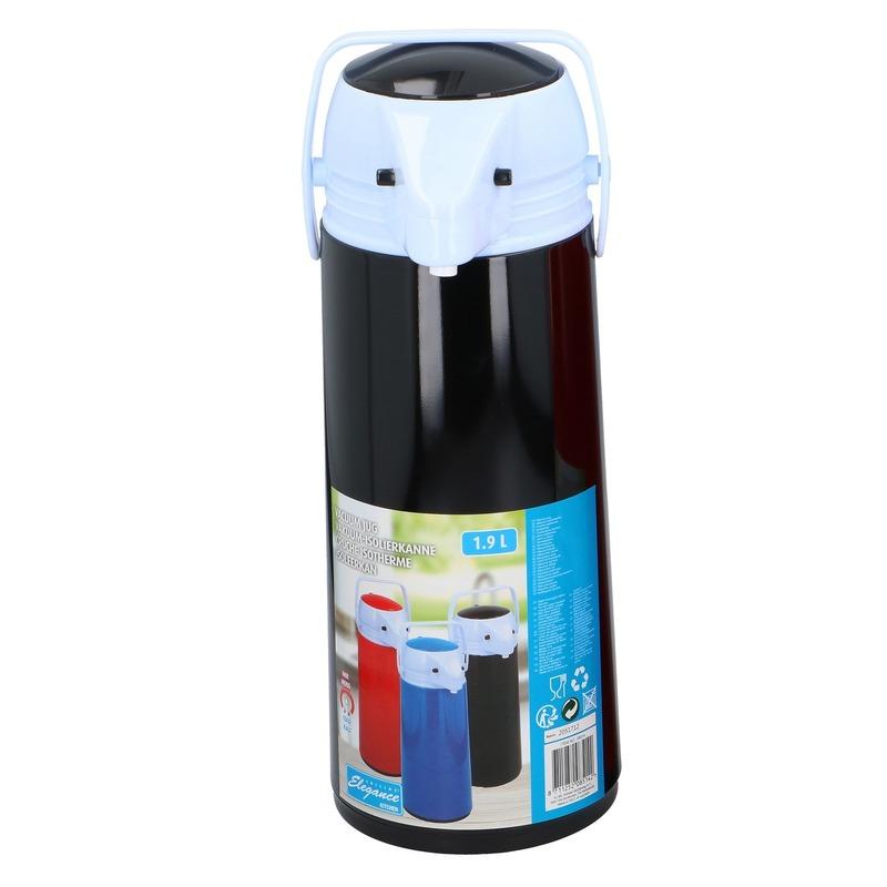 Thermoskan-isoleerkan met dispenser 1.9 liter zwart