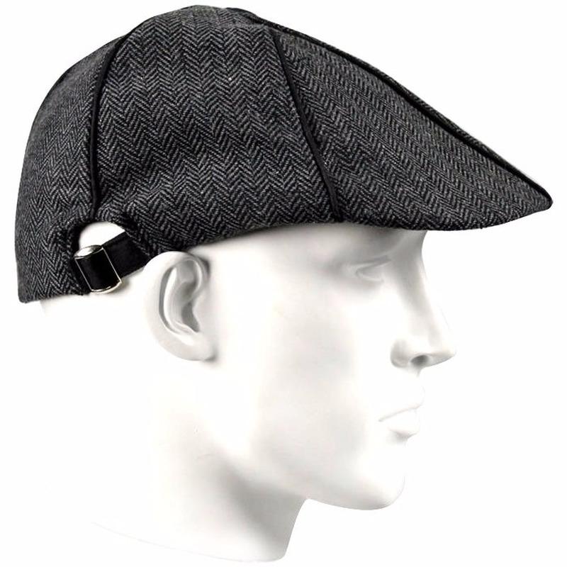Verkleed Sherlock Holmes detective pet antraciet voor heren
