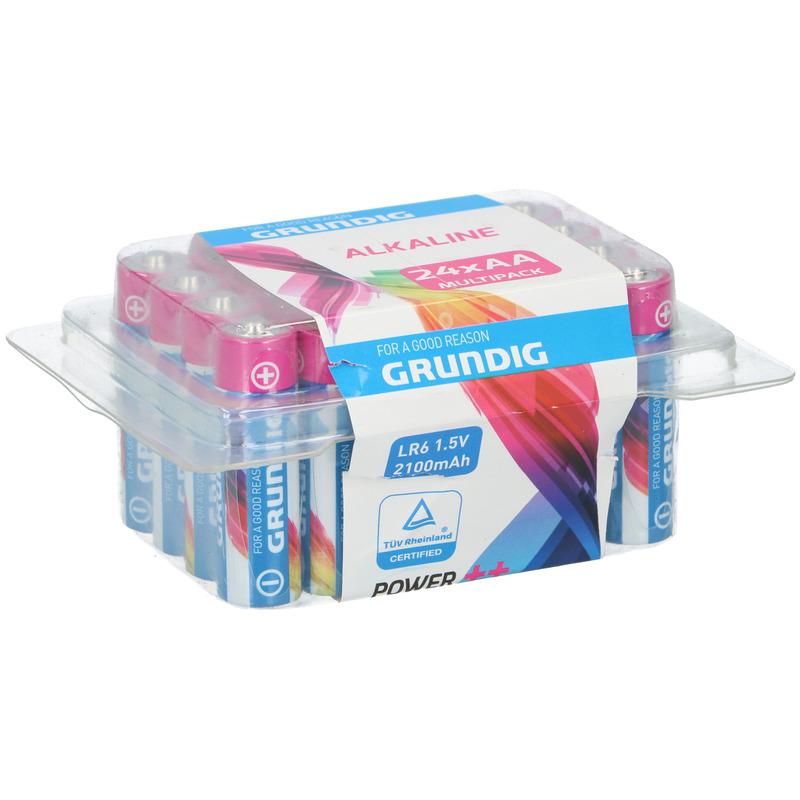 Voordeelpak 24 x AA batterijen alkaline