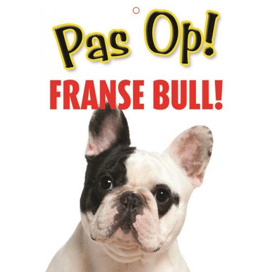 Waakbord Franse Bulldog hond
