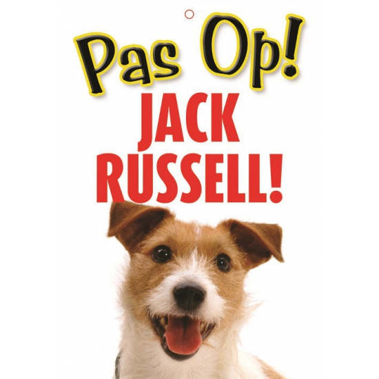 Waakbord Jack Russell hond