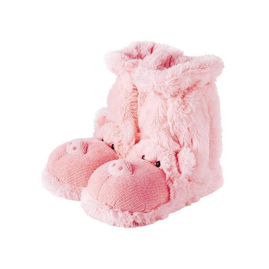 Warme sokken roze varken