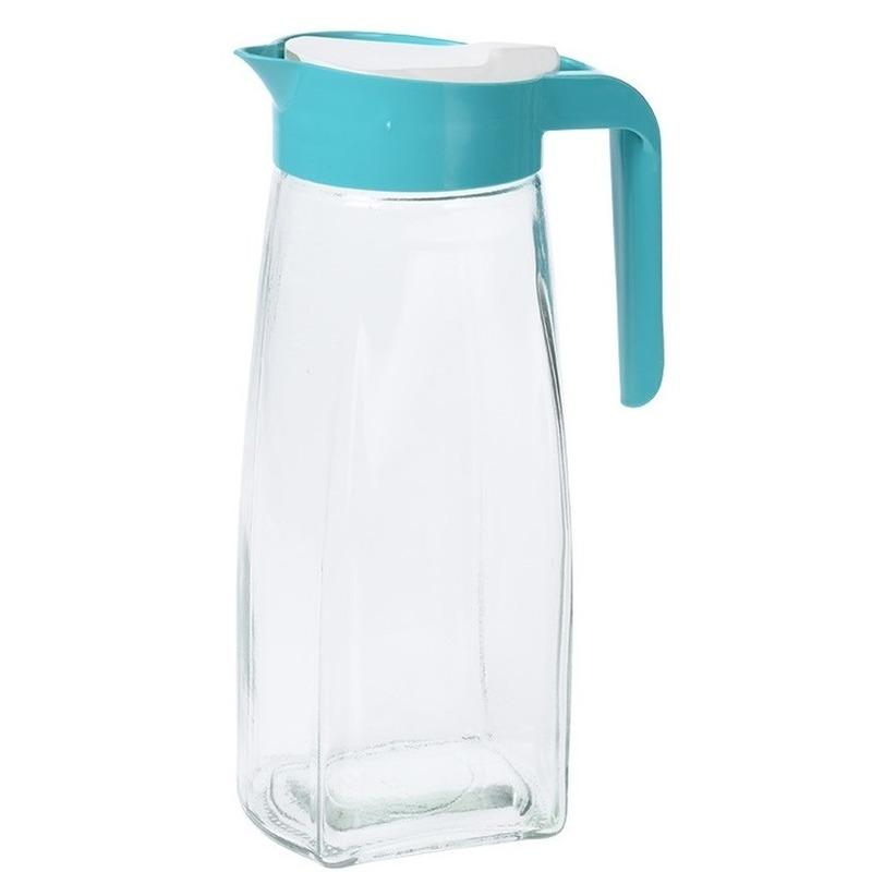 Water-sap kan van glas 1,5 liter