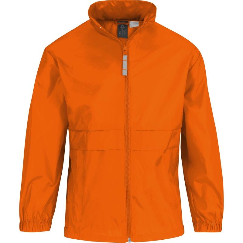 Windjacks voor jongens oranje
