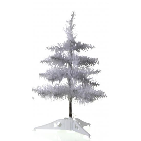 Witte kerstboom voor op kantoor