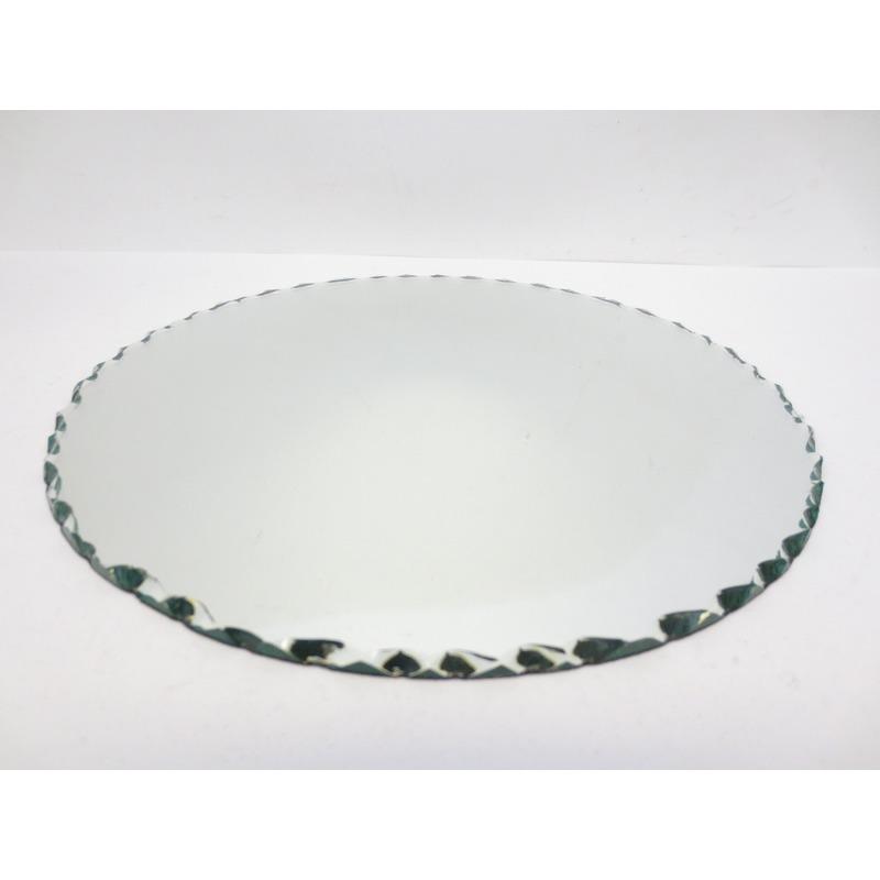 Woning decoratie spiegel kaarsenbord 25 cm