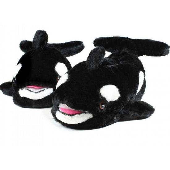Zachte dieren pantoffels walvis