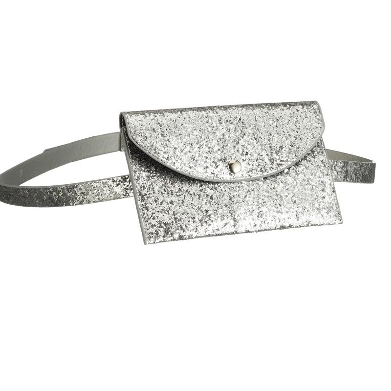 Zilveren heuptasje 18 cm