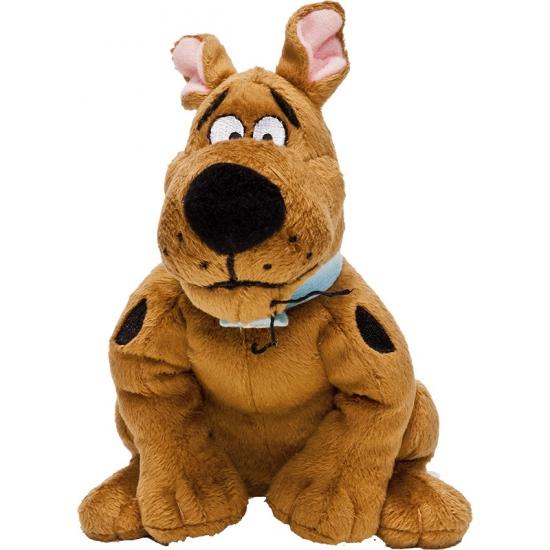 Zittende Scooby Doo knuffel 15 cm