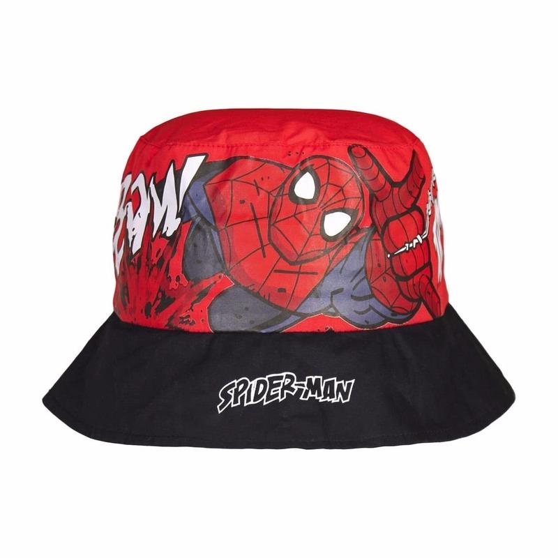 Zomerhoedjes van Spiderman
