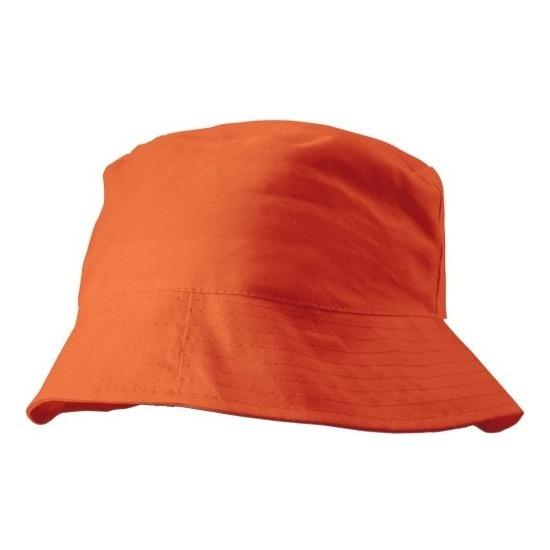 Zonnehoedje oranje 57-58 cm