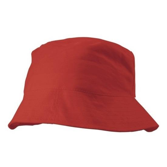 Zonnehoedje rood