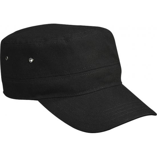 Zwarte rebel Militairy cap